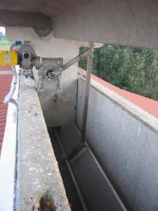 Motoriduttore per l'apertura e chiusura della valvola.