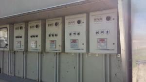 Centraline di comando per finestre e cupolino.
